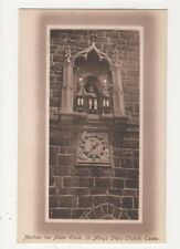 Matthew The Miller Clock St. Marys Steps Church Exeter, J. Welch Postcard, M031