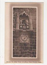 Matthew The Miller Clock St. Marys Steps Church Exeter, J. Welch Postcard, M031