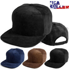 Corduroy Cord Hat Baseball Cap Plain Blank Flat Brim Vintage Snapback  Adjustable 93c597e4e
