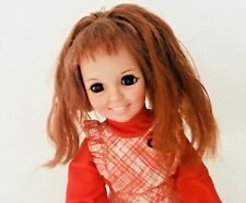 Vintage 1969 Ideal Toy Crissy Doll Growing Red Hair with Clothes Original Dress