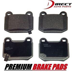 Rear Premium Brake Pads Set For Subaru Impreza WRX STI Nissan 350Z