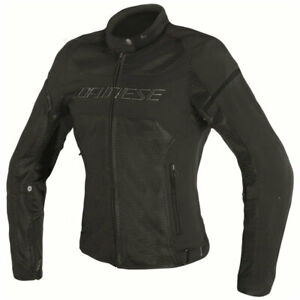Jacket Women's Dainese Air Frame D1 Lady Tex Black Size 40 Motorcycle Summer