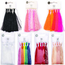 8cm Polyester Tassels - Pack of 5 - All Colours