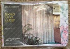 Cathy Hardwick Watercolors JCPenney Tailored Panel Curtain NEW 60x84