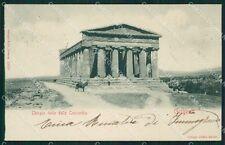 Agrigento Girgenti cartolina XB1607