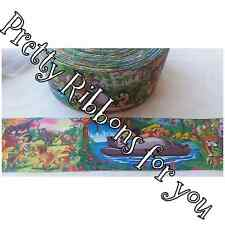 """3"""" wide The Jungle Book high quality grosgrain ribbon 2 yards listing"""