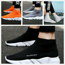 Womens Mens Elastic Sock Shoes Comfort Breathable Running SIZE Trainers STOCK H