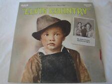 ELVIS PRESLEY I'M 10,000 YEARS OLD ELVIS COUNTRY VINYL LP ALBUM 1971 RCA VICTOR