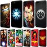 Iron Man Marvel Comics Wonder Woman TPU Case for iPhone XS Max X 8 7 6 6s Plus