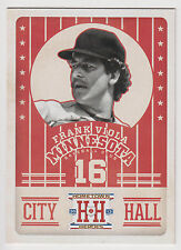 FRANK VIOLA 2013 Panini Hometown Heroes Baseball City Hall Card #CH1 Twins