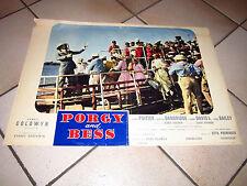 fotobusta  PORGY AND BESS SIDNEY POITIER OTTO PRIMINGER d.dandridge