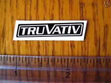 TRUVATIV Mountain Bike Bikes Rock Shox  STICKER DECAL