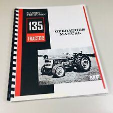 Massey Ferguson MF 135 Tractor Operators Owners Manual