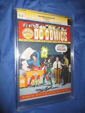 AMAZING WORLD OF DC COMICS #10 CGC 9.2 SS Signed by Neal Adams ~SUPERMAN 1975