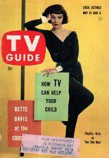 1958 TV Guide May 31 Bette Davis; John Forsythe-Bachelor Father; Phyllis Kirk
