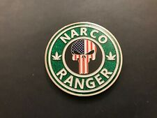 NYPD GREEN NARCO RANGER CHALLENGE COIN