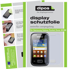1x Samsung Galaxy Pocket Duos S5302 Protector de Pantalla protectores mate