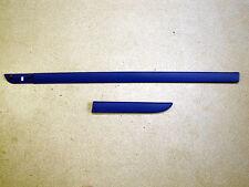 Renault Megane II Baguette latérale Porte à gauche bleu mat Neuf 8200073474
