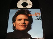 "JOHN FOGERTY<>ROCK and ROLL GIRLS<>45 Rpm,7"" Vinyl ~Canada Pressing~WB 92 90537"
