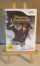 Pirates of the Caribbean: At World's End - Nintendo Wii - PAL - FREE SHIPPING