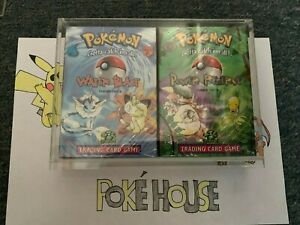 Pokemon 1999 Jungle Complete Theme Deck Set New Factory Sealed with Acryl!