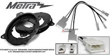 """Metra 82-8147 6"""" - 6.75"""" Speaker Adapter Install Parts Harness For Toyota"""