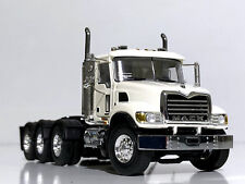 WSI TRUCK MODELS,MACK GRANITE 8x4 WHITE, SINGLE TRUCK,1:50