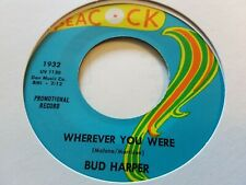 Northern Soul.    Bud Harper  /   Wherever You Were   .