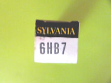 6HB7 SYLVANIA VINTAGE (TUBE), (NEW IN BOX / NEW OLD STOCK).