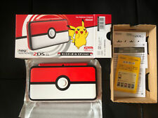 New Nintendo 2DS XL/LL Pokeball Edition LOADED OVER 500 Games. Pokemon Ultra!