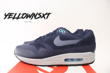 NIKE AIR MAX 1 PREMIUM SZ 10 OBSIDIAN NAVY BLUE FURY BLACK CARBON 875844 401