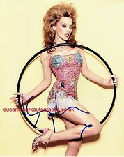 Kylie Minogue Fever Showgirl The Greatest Hits Tour Autograph UACC RD96