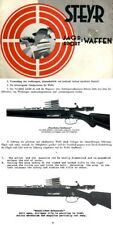 Steyr-Mannlicher Schoenauer Repeating Sporting Rifles 1935 (with English Transla