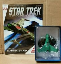 Star Trek Eaglemoss Starship Klingon Augments' Ship magazine 53