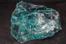 15 LBS SLAG GLASS ROCK CULLET AQUARIUM LANDSCAPE FISH TANK GARDEN YARD ART #1180