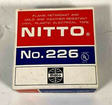"""Nitto No. 226  1"""" x 36 Ft, 8.5 mil  Rubber Electrical Tape"""