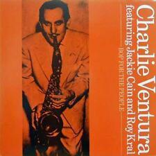 "Charlie Ventura Bop for The People 1983 LP 12"" 33rpm UK rare reissue vinyl (vg-)"