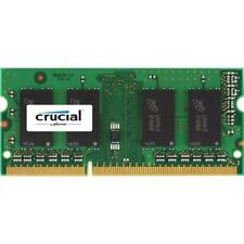MEMORIA RAM CRUCIAL SODIMM DDR3 4GB PC3 1600 CT51264BF160BJ SO-DDR3 PER NOTEBOOK