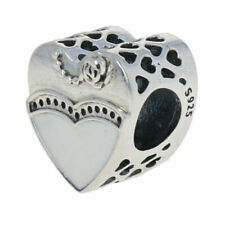Genuine Sterling Silver PANDORA Our Special Day Wedding Charm 791840ENMX ALE