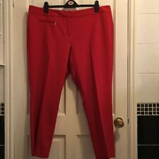 Cotton Blend Regular Capri, Cropped 28L Trousers for Women