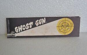 VINTAGE 1974 HASBRO GHOST GUN TARGET BOOKLET 60 STRIPS/884 TARGETS NEARLY COMPLT