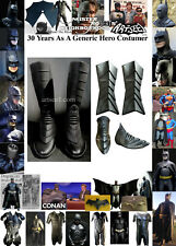 Your Batman Costume can use upgrade generic Suit Armor Boot Spats Set Returns