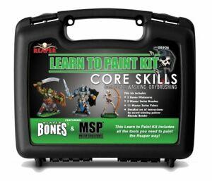 Reaper Miniatures Bones - 08906 : Learn to Paint : Core Skills