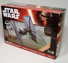 STAR WARS FIRST ORDER TIE FIGHTER REVELL BUILD & PLAY MODEL LIGHTS SOUNDS MISB