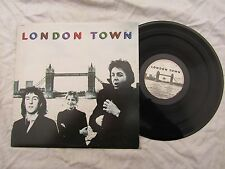 WINGS LP LONDON TOWN + poster Italy pressing .......33rpm / rock