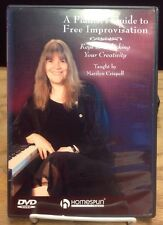 A Pianists Guide to Free Improvisation Dvd 2005 Marilyn Crispell With Booklet