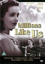 Millions Like Us 1940 Patricia Roc Gordon Jackson Home Front War Film DVD New