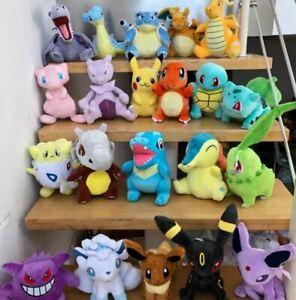 Pokemon Plushies 8-40cm Height Cute Cuddly Soft Toys (Stock within Australia)