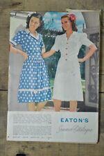 Eaton's Summer Catalogue 1944 Vintage