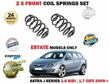 FOR OPEL VAUXHALL ASTRA J 1.6 SIDI 1.7 CDTI ESTATE 2009-> 2 x FRONT COIL SPRING